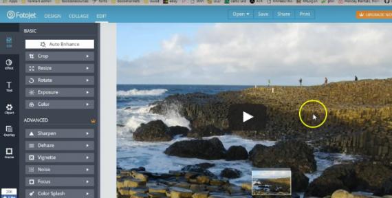 fotojet tutorial online photo editing